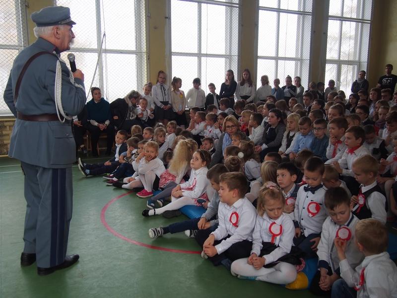 Ilustracja do informacji: Tydzień Patriotyczny w Wojciechach
