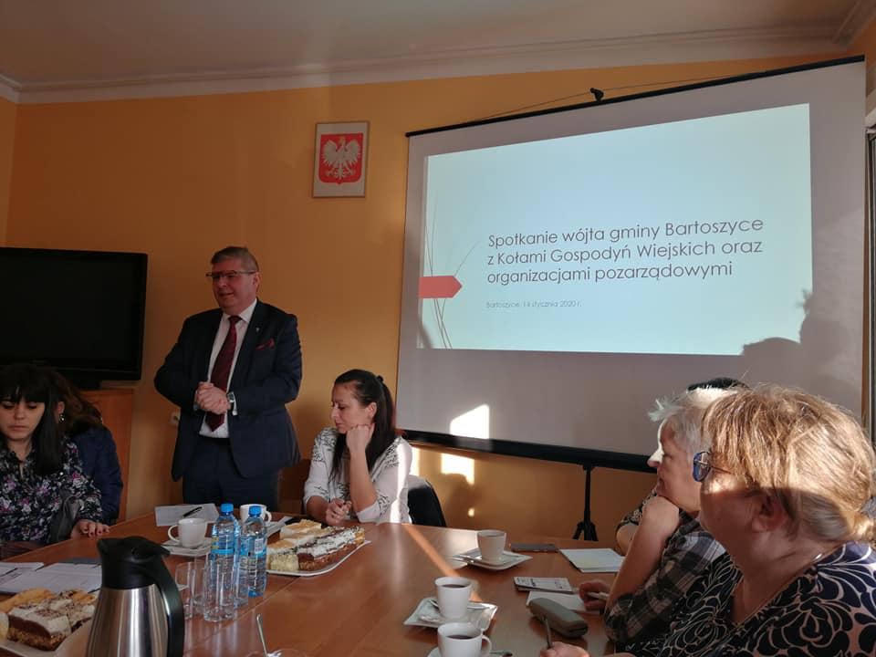 Ilustracja do informacji: Spotkanie lokalnych liderów