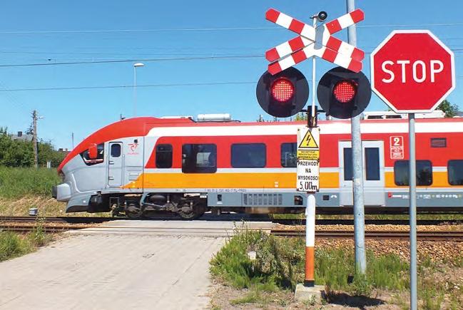 Ilustracja do informacji: Likwidacja przejazdu kolejowo - drogowego